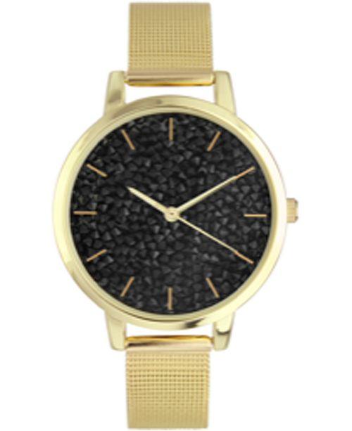 INC International Concepts INC Women's Gold-Tone Mesh Bracelet Watch 27mm, Created For Macy's
