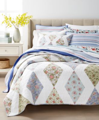Garden Floral Full/Queen Quilt, Created For Macy's