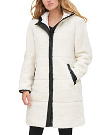 Women's Quilted Sherpa Jacket