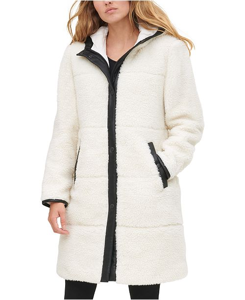 Levi's Women's Quilted Sherpa Jacket
