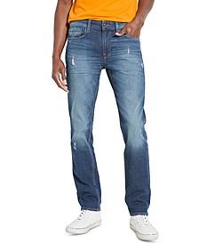 Men's Slim-Straight Basic Jeans