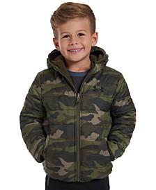 Little Boys Reversible Pronto Puffer Hooded Jacket