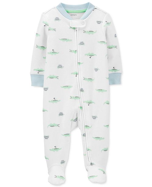 Carter's Baby Boys Alligator Coverall