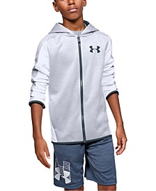 Big Boys Fleece Zip-Up Hoodie