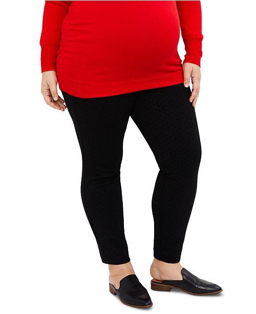 Motherhood Maternity Plus Size Secret Fit Belly® Skinny Pants