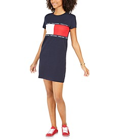 Signature-Graphic T-Shirt Dress, Created for Macy's