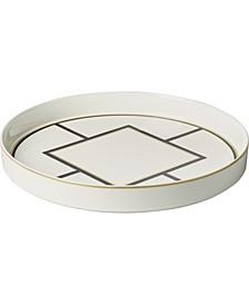Metro Chic Round Decorative Tray