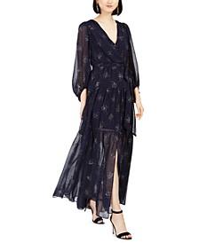 Glitter-Star Maxi Dress