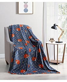 Fredrick the Fox Throw Blanket