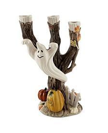 Halloween Harvest Ghost Candleholder