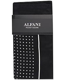 Men's Dot Silk Pocket Square, Created For Macy's