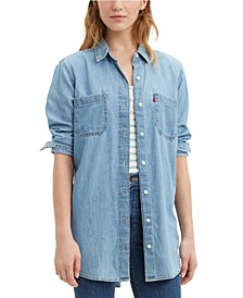 Leni Cotton Denim Tunic