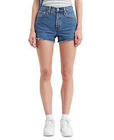 Levi's® Women's 501 Cotton High-Rise Denim Shorts