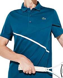 Men's Mixed Media Sport Polo Shirt