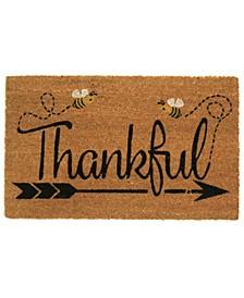 Thankful Coir Door Mat
