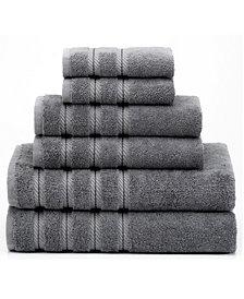 American Soft Linen Premium, Luxury Hotel Spa Quality, for Kitchen and Bathroom, 6 Piece %100 Turkish Cotton Towel Set