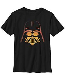 Star Wars Big Boy's Darth Vader Pumpkin Carving Halloween Short Sleeve T-Shirt