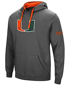 Men's Miami Hurricanes Big Logo Hoodie