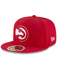 Big Boys Atlanta Hawks Basic 59FIFTY Fitted Cap