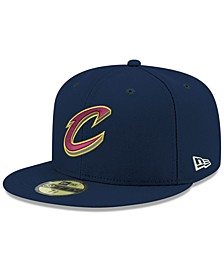 Big Boys Cleveland Cavaliers Basic 59FIFTY Fitted Cap