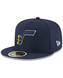 Big Boys Utah Jazz Basic 59FIFTY Fitted Cap