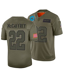 Men's Christian McCaffrey Carolina Panthers Salute To Service Jersey 2019