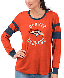 Touch by Alyssa Milano Women's Denver Broncos Stadium Thermal Top