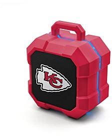 Prime Brands Kansas City Chiefs Shockbox LED Speaker