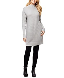Trendy Plus Size Maeve Mock-Neck Sweater
