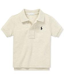 Baby Boys Cotton Mesh Polo Shirt