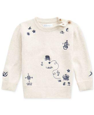 size 7 Regular-$49.50 Tommy Hilfiger Little Boys Colorblocked Mock-Neck Sweater
