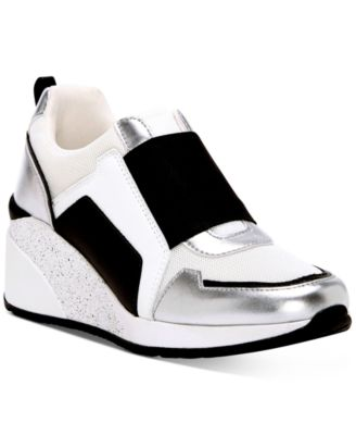 Heily Stretch Wedge Sneakers, Created