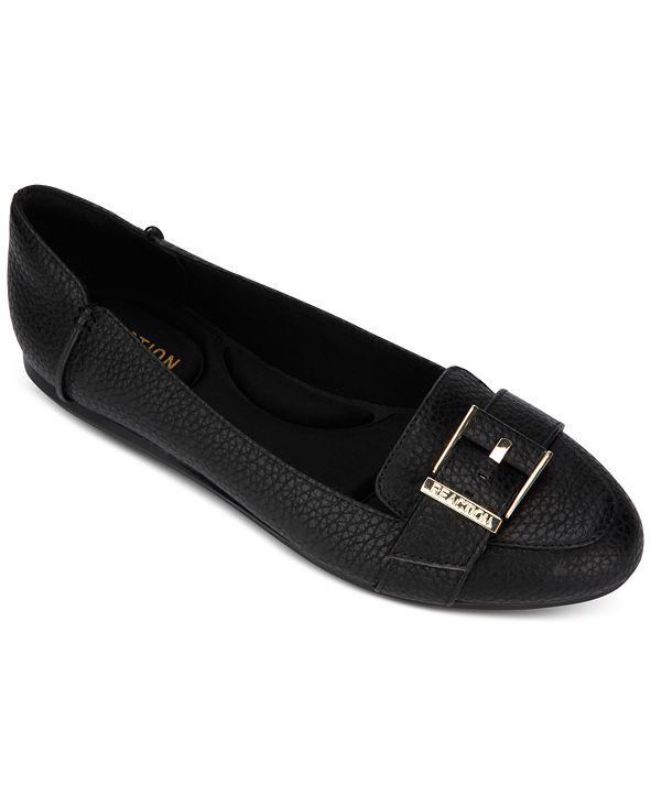 Kenneth Cole Reaction Women's Viv Buckle Loafer Flats