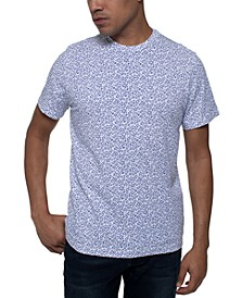 Men's Stretch Star Print T-Shirt