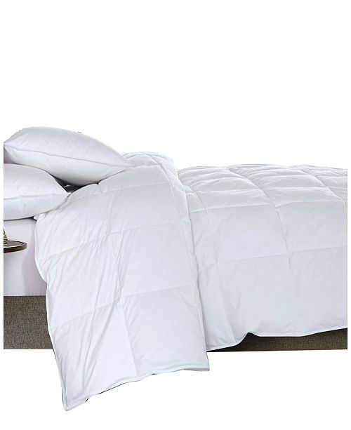 DOWNHOME Featherloft Goose Feather Down Comforter and Pillow Collection