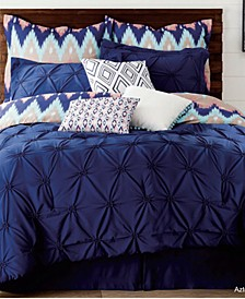 Southwestern Chevron 9-Piece Queen Bedding Set