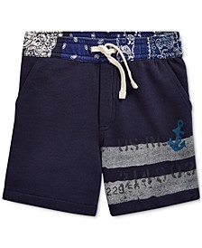 Little Boys Cotton French Terry Shorts