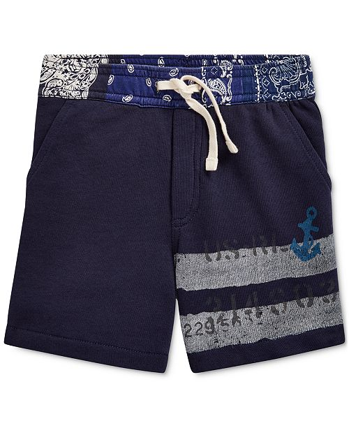 Polo Ralph Lauren Toddler Boys Cotton French Terry Shorts