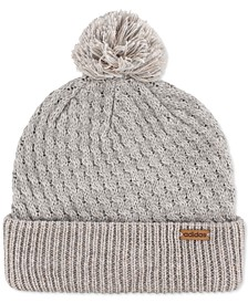 Twilight II Metallic Pom Pom Beanie