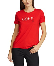 Petite Love Cotton-Blend T-Shirt