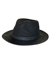 Wool Felt and Haircalf Panama Hat