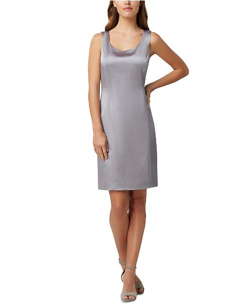 Tahari ASL Sheath Tank Dress
