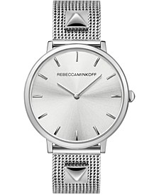 Women's Major Stainless Steel Mesh Bracelet Watch 35mm