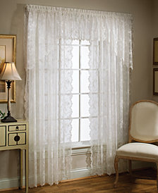 "Saturday Knight Sheer Petite Fleur 78"" x 30"" Swag Valance"