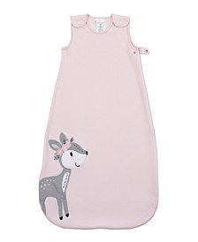 Sweet Deer Fleece Wearable Baby Blanket