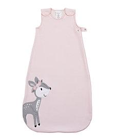 Little Love by Nojo Sweet Deer Fleece Wearable Baby Blanket