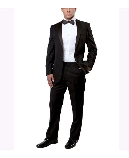 Bryan Michaels Slim Fit Classic 2 Piece Tuxedo For All Occasions
