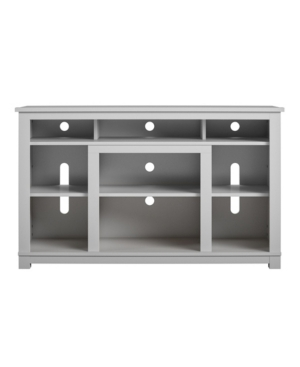 """A Design Studio Allington Tv Stand For Tvs Up To 55"""" In Gray"""