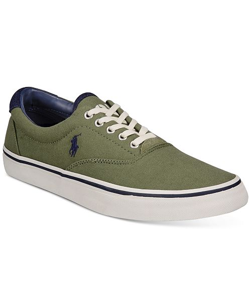 Polo Ralph Lauren Men's Herringbone Thorton Sneakers