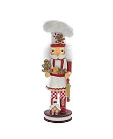 15-Inch Gingerbread Chef Nutcracker